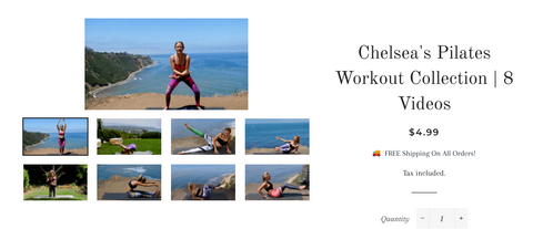 Person - 28 Min Fat Burning Pilates Workout By Chelsea