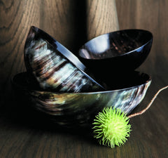 horn collection serving bowl