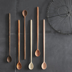 long handle tasting spoons