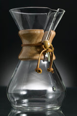 chemex hand-blown drip coffee maker