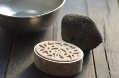 hammam collection: red clay soap