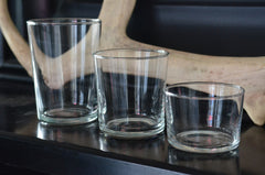 italian bistro glass collection