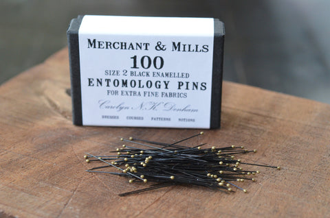 entomolgy pins