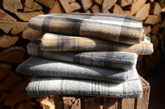 heritage english wool throw collection