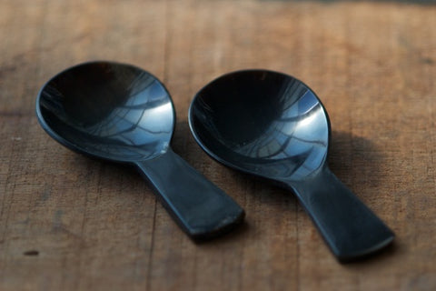 canyon buffalo horn scoop spoons