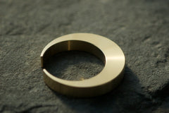mikaduki crescent brass bottle opener