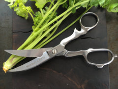 stainless steel household + kitchen scissors