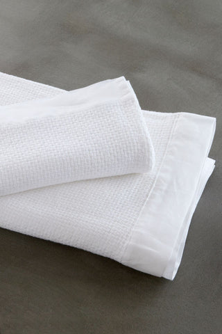 interlace handwoven bath + hand towels