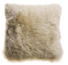 long wool australian sheepskin cushion