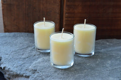 citronella cedar wood outdoor candle trio