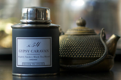 no. 54 bellocq gypsy caravan tea