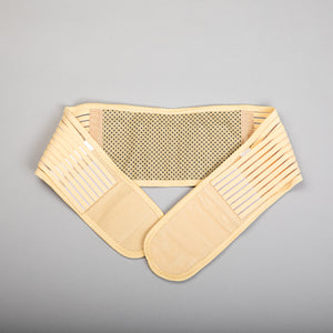 Magnet & Tourmaline Back Pain Belt (beige)