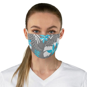 female front view Fern 3-Fabric Face Mask