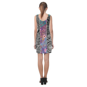 Sacred Geometry Multi Color Sleeveless Dress - Maui Woke
