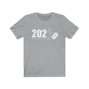 Over It! 2020 🤣 Humorous BEST MEME 2020 • Kick • White Gray • Unisex Jersey Short Sleeve Tee - Maui Woke