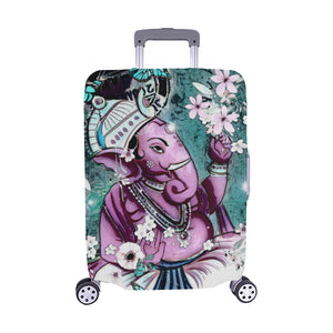 Purple Ganesha Luggage Cover-SHD|Maui Woke - Maui Woke