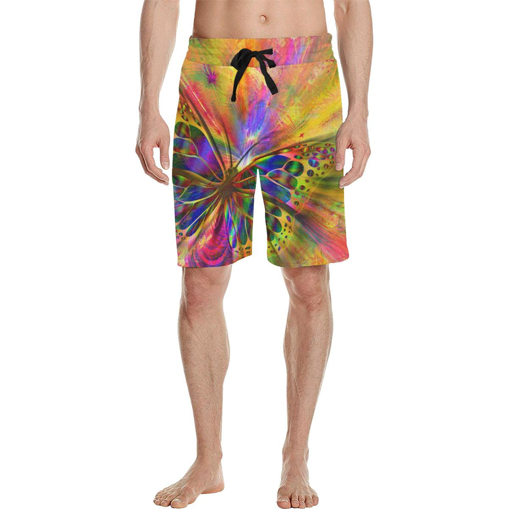 Psycho Butterfly Casual Boardshorts