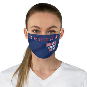 Political Biden Harris 2020 • Red, White and Blue Fabric Face Mask - Maui Woke