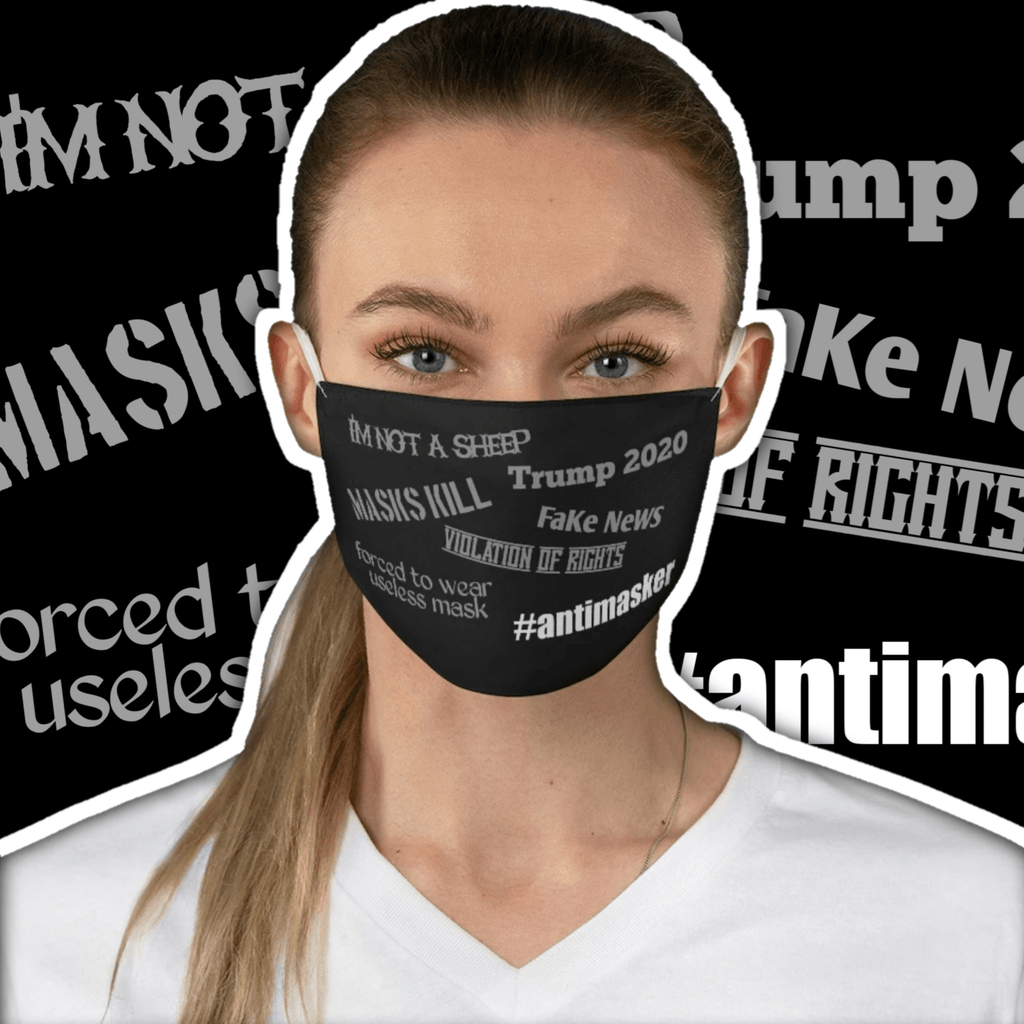 Political #Antimasker • Fabric Muzzle