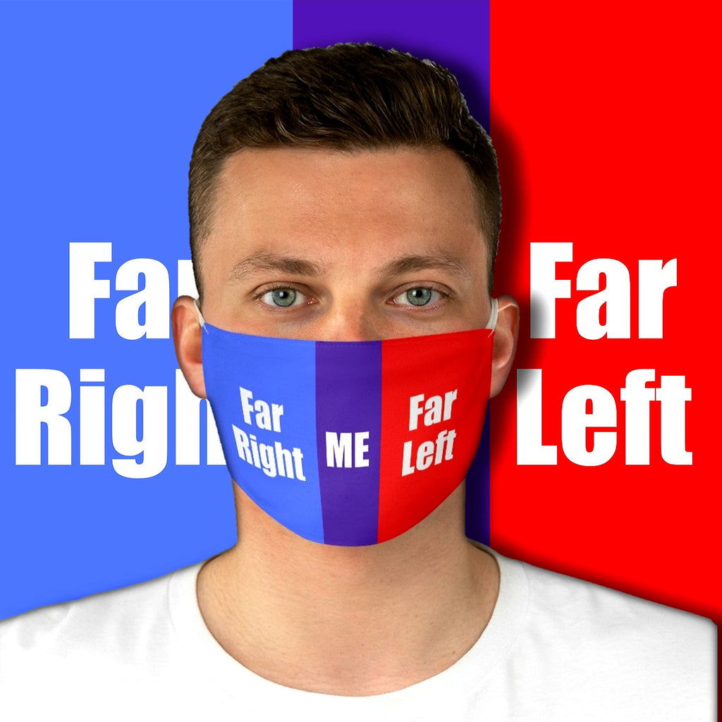 Political Me • Fabric Face Mask