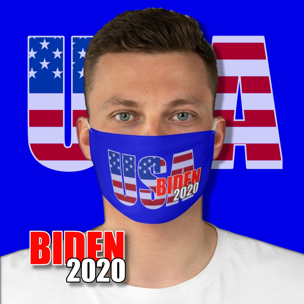 Political Biden 2020 • USA Fabric Face Mask