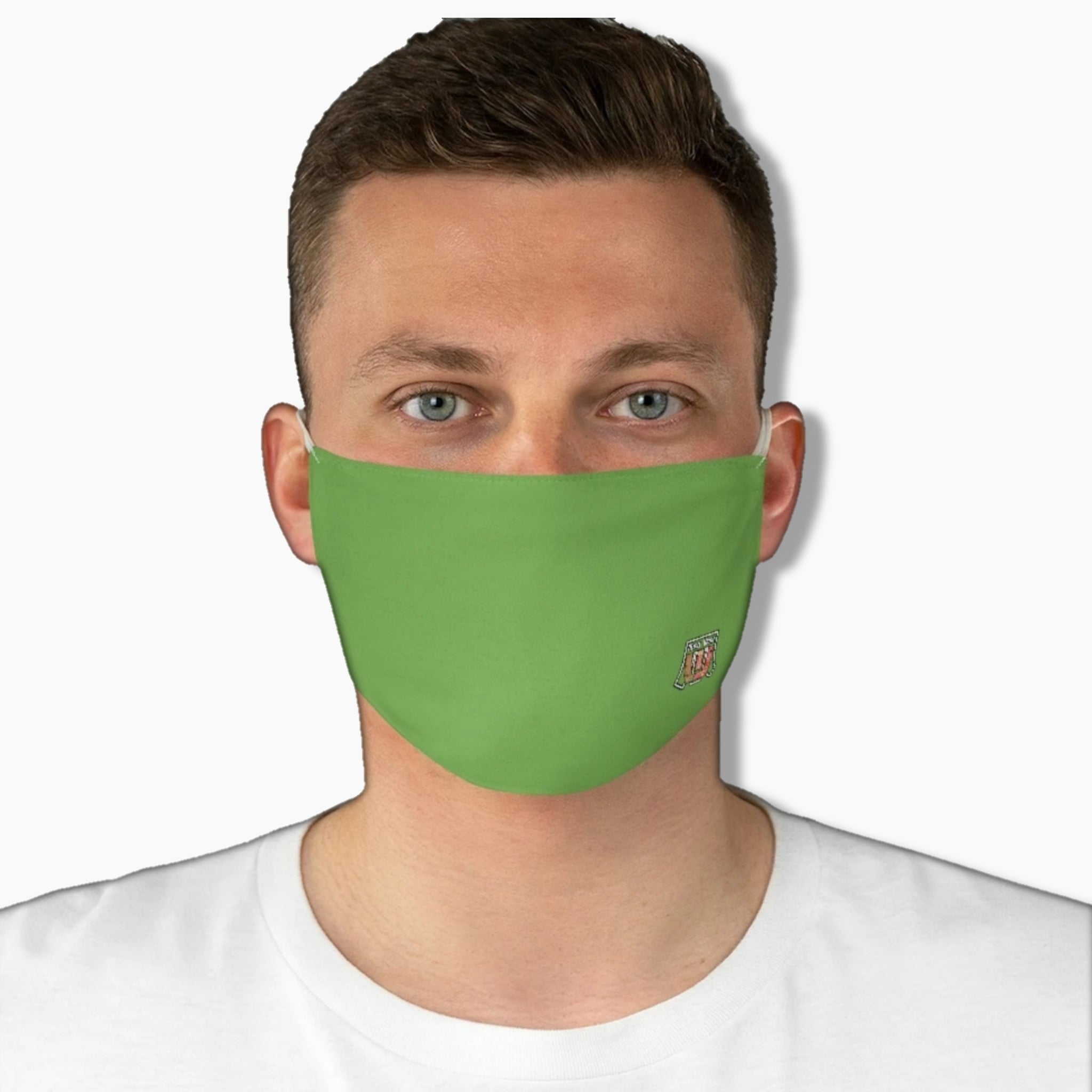 Basic Green Upcountry Fabric Face Mask - Maui Woke