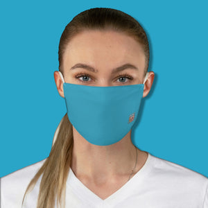 Basic Blue Fabric Face Mask - Maui Woke