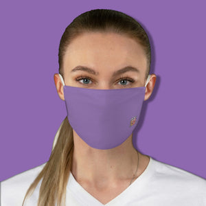 Basic Purple Fabric Face Mask - Maui Woke