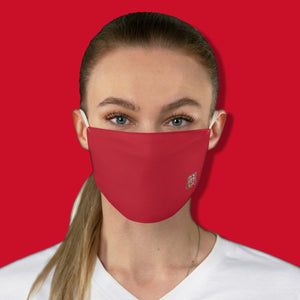 Basic Red Fabric Face Mask - Maui Woke