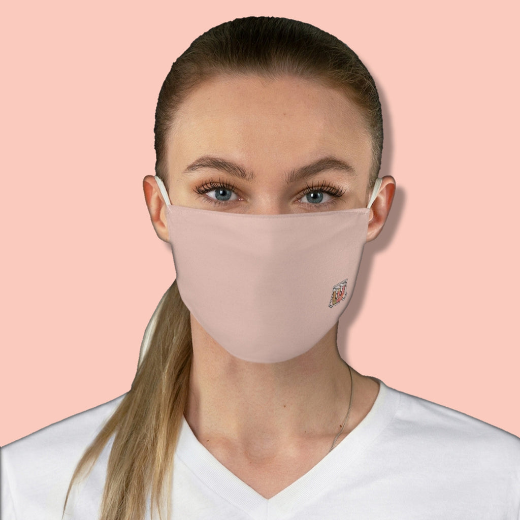 Basic Pantone Light 2 Fabric Face Mask - Maui Woke