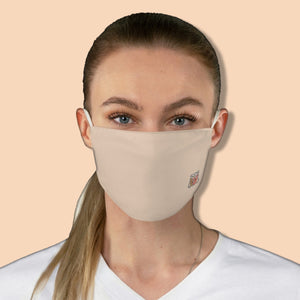 Basic Pantone Light 1 Fabric Face Mask - Maui Woke