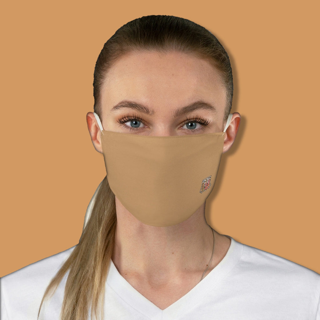 Basic Pantone Tan Fabric Face Mask - Maui Woke
