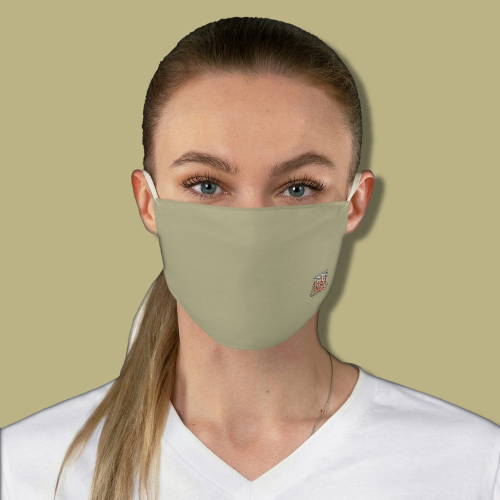 Basic Green Bamboo Fabric Face Mask - Maui Woke