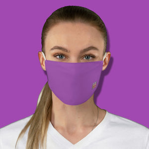 Basic Lavender Fabric Face Mask - Maui Woke
