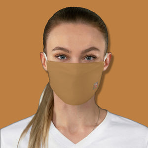 Basic Brown Fabric Face Mask - Maui Woke