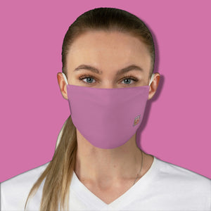 Basic Dusty Rose Fabric Face Mask - Maui Woke