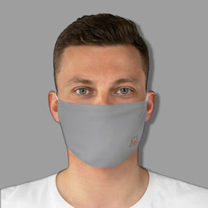 Basic Grey Fabric Face Mask - Maui Woke