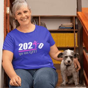 Go On GIT! 2020 Humorous BEST MEME 2020 • Kick • Pink • Women's Boyfriend Tee - Maui Woke