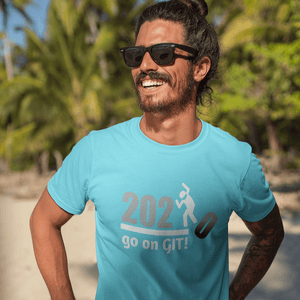 Go on GIT! 2020 🤣 Humorous BEST MEME 2020 • Stomp • White Gray • Unisex Jersey Short Sleeve Tee - Maui Woke