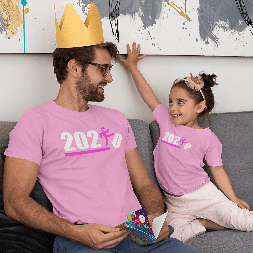 Over It! 2020 🤣 Humorous BEST MEME 2020 • Kick • Pink • Unisex Jersey Short Sleeve Tee - Maui Woke