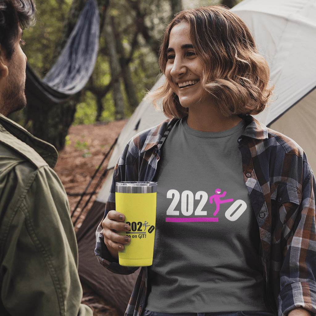 Over It! 2020 Humorous BEST MEME 2020 • Kick • Pink • Women's Boyfriend Tee - Maui Woke