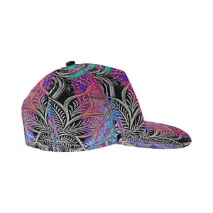 Sacred Geometry Multi Color All Over Print Snapback Cap D - Maui Woke