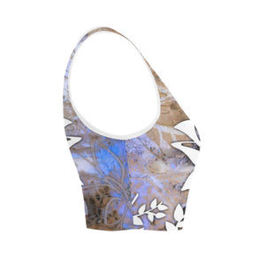 Lotus Blue Women's Reversible Sports Bra - Maui Woke