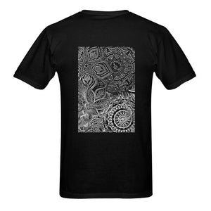 Sacred Geometry Black/ White Classic T-shirt - Maui Woke