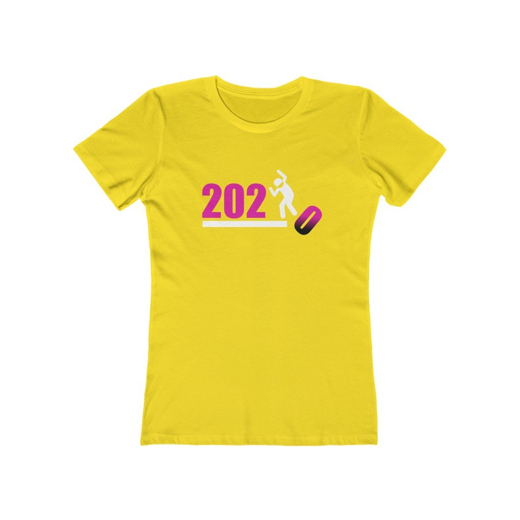 Over It! 2020 Humorous BEST MEME 2020 • Stomp • Pink • Women's Boyfriend Tee - Maui Woke