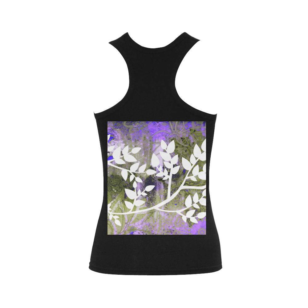 Lotus Blue Shoulder-Free Tank Top - Maui Woke
