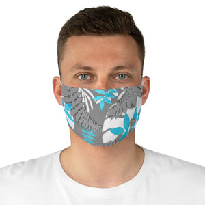 front male view Fern 3-Fabric Face Mask