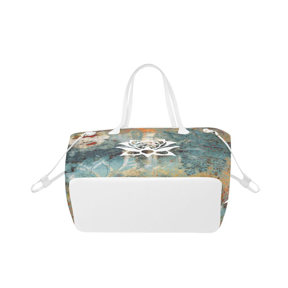 Lotus Natural Classic Tote Bag - Maui Woke