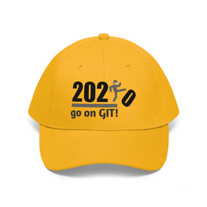 Go On GIT! 2020 • Unisex Twill Hat • Kick • Black and Gray - Maui Woke