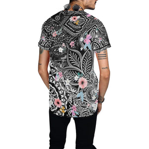 Sacred Geometry Flowers All Baseball Jersey - Maui Woke